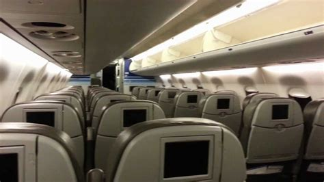 jetblue airways embraer 190 100 seater cabin view