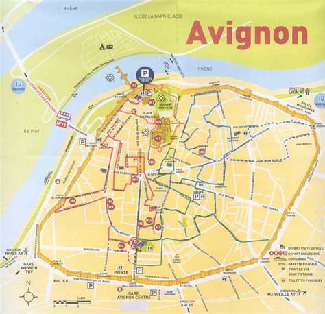 map of avignon avignon avignon