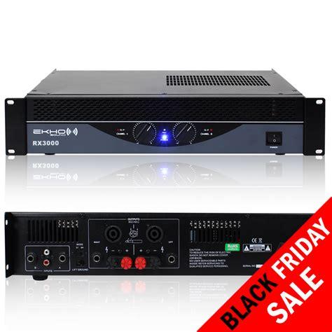 New Pro new pro rx3000 power lifier dj disco pa system bridge 12000w 12kw ipp eur 253 07
