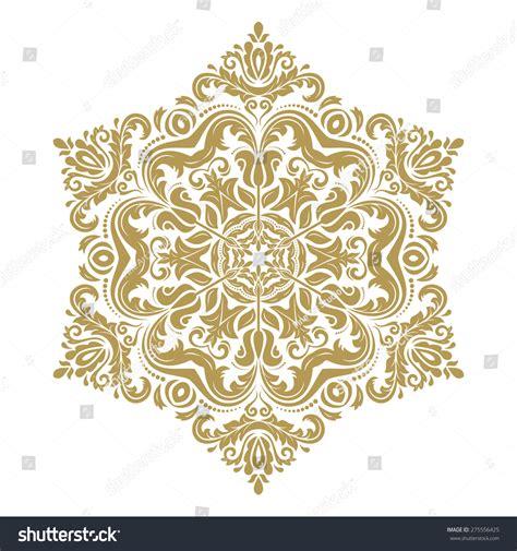 Oriental Arabesque Pattern Vector Free | oriental vector pattern arabesque floral elements stock