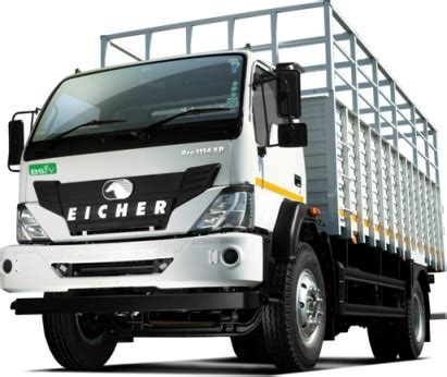 eicher pro  price specifications  trucks india