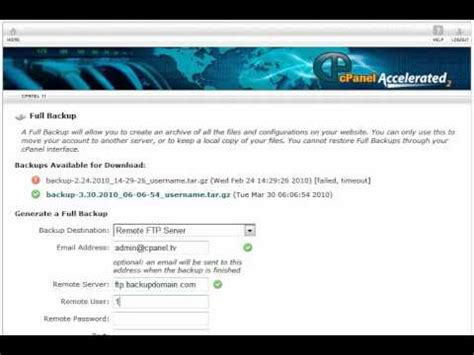 tutorial backup wordpress wordpresstutorials tv cpanel backup wordpress tutorial
