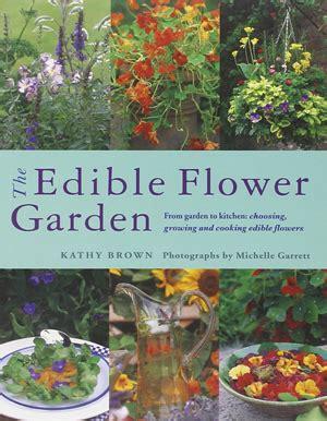 Edible Flower Garden Edible Flower Books The Flower Deli