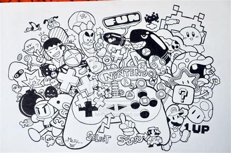 usborne doodle drawing colouring book nintendo by mrpyl deviantart on deviantart doodle