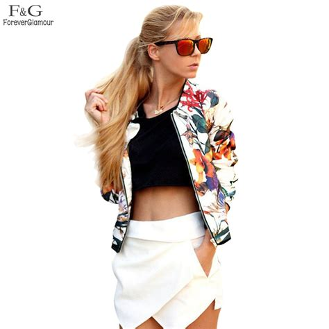 Jaket Casual Jaket Fashion Pria Cz 551 fanala bomber jacket 2017 s s jackets fashion floral sequin three quarter