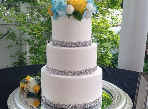 Atasan Wanita Sabrina Ruffle Horizontal Stripes sweet whimsy cakes
