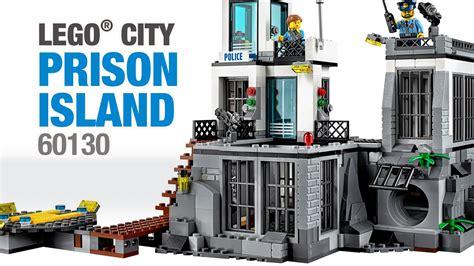 Lego City Prison Island 60130 lego 174 city prison island 60130 set 2016