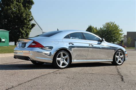 Mercedes cls63 Wrap Vinyl chrome wallpaper   3088x2056