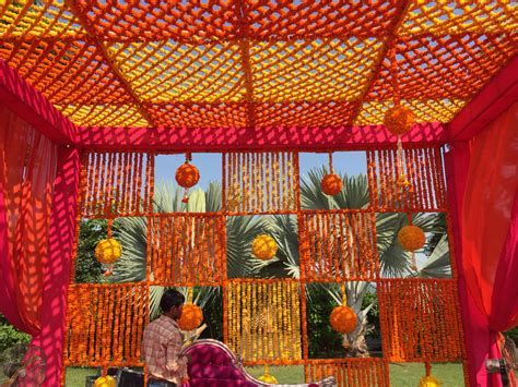 Mehendi Decor at Radisson Blue Udaipur   Wedding Decor