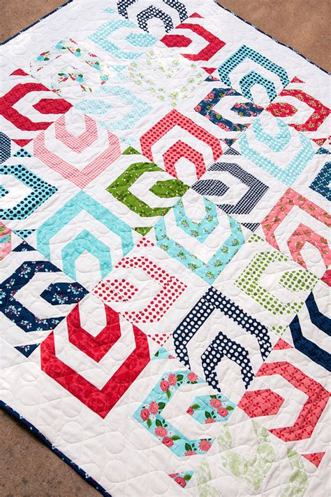 free pattern jelly roll quilt kaleidoscope quilt pattern by lella boutique make it