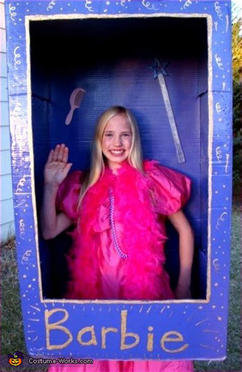 barbie   box costume  girls  sew diy costumes