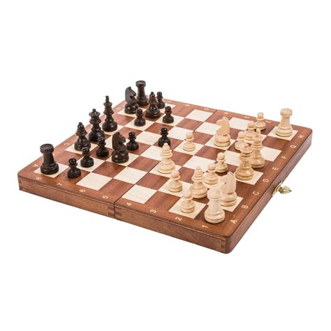 magnetic chess chess magnetic mahogany sklep szachy pl