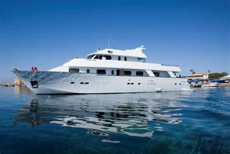party boat paphos boat trip on ocean flyer in cyprus