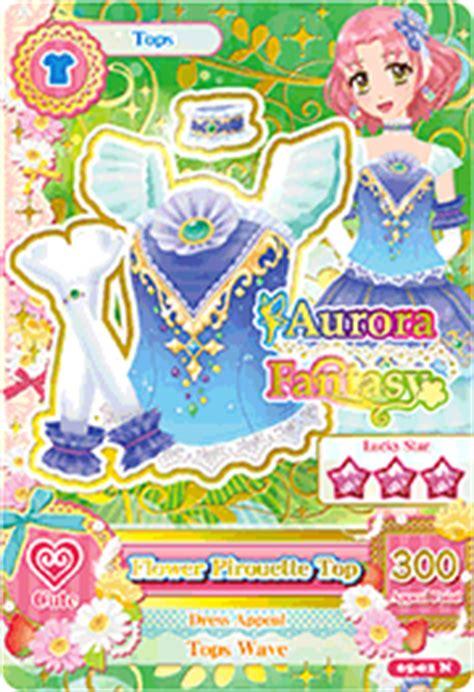Kartu Aikatsu Loli edisi ke 5 cardlist aikatsu