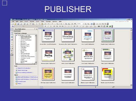 tareas basicas de publisher trabajo de informatica 2 publisher