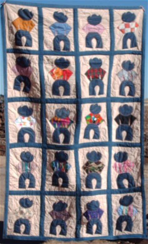 Cowboy Quilt Pattern by Cowboy Quilt Unusal Quilts Cowboy Quilt