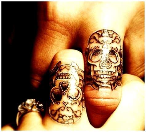 unique tattoo for couples skull tattoo designs for couples on finger couples tattoo