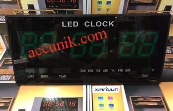 Jual Lu Led Warna jual jam dinding digital warna hijau digital clock led