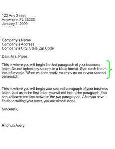 Body For Business Letter collection body business letter part of business letter