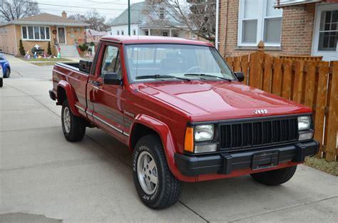 jeep truck 2 door 1991 jeep comanche pioneer standard cab pickup 2 door 4 0l