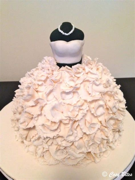 dress cake wedding dress cake front my happy after