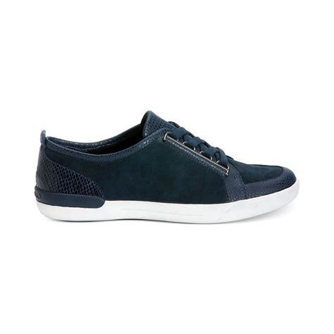 calvin klein sneakers womens calvin klein s tanita sneakers in blue indigo lyst