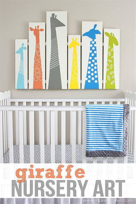 diy projects for nursery be your child s with these great 30