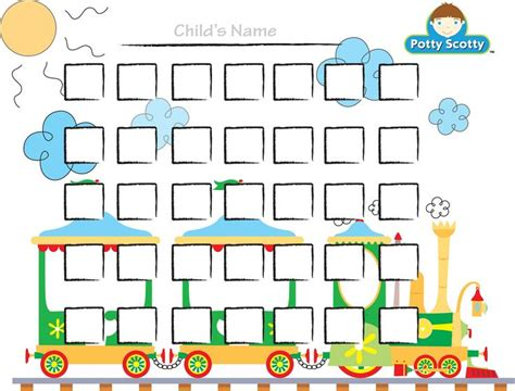 potty chart template potty charts for children activity shelter printable