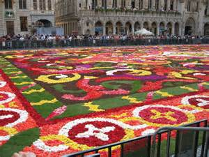 teppich blumen brussels flower carpet xarj and podcast