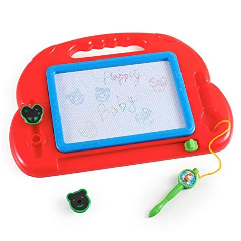 color doodle magnetic drawing board color magnetic drawing doodle board with sters new ebay