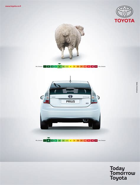 Toyota Ad Toyota Print Advert By Tbwa Sheep Ads Of The World