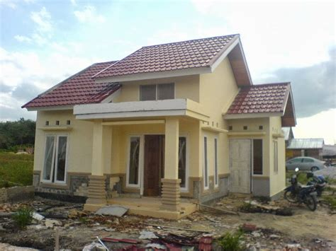 desain rumah yang sederhana rencana desain rumah sederhana yang indah bagian 2