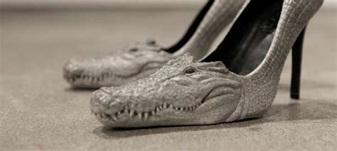 toothy crocodile pumps killer heels