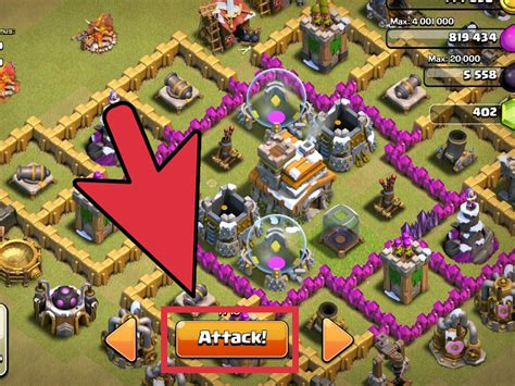 How To Search On Clash Of Clans How To Win Clan Wars In Clash Of Clans 8 Steps With Pictures