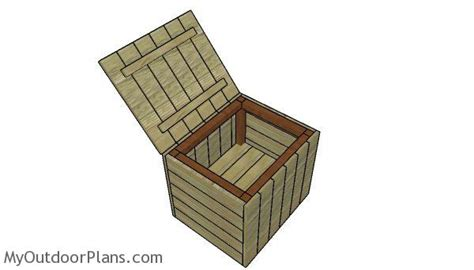 modern outdoor side table  storage plans