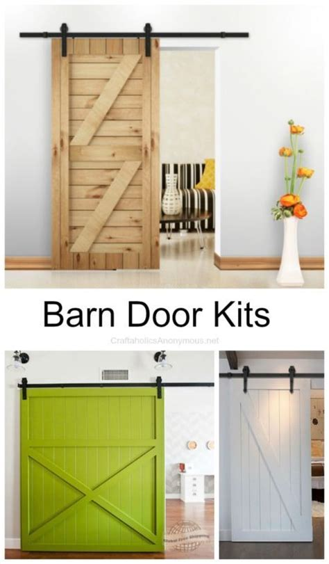 Bathroom Barn Door Kit by 17 Best Images About Barn Doors On Sliding
