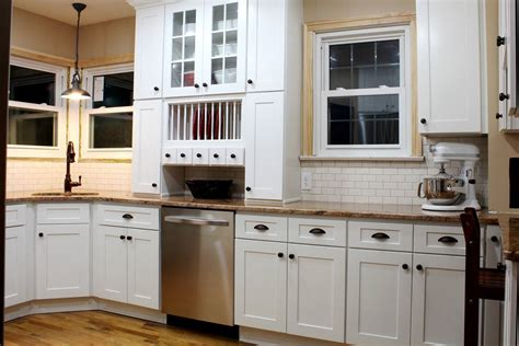 White Shaker Kitchen Cabinets Hardware The Clayton Hardware For White Kitchen Cabinets