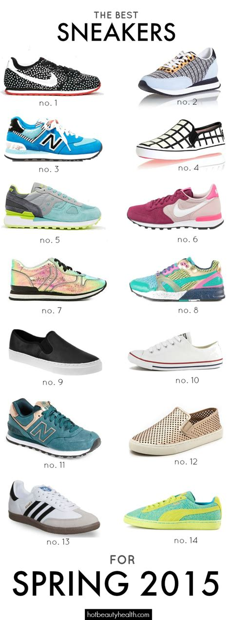 types of nike sneakers the best sneakers for 2015