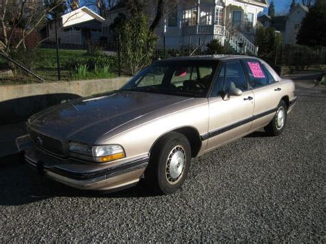 how do i learn about cars 1993 buick lesabre head up display sell used 1993 buick lesabre limited sedan 4 door 3 8l in grass valley california united