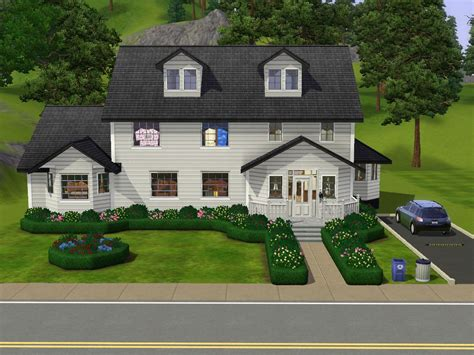 mod the sims 10 summer drive small family home