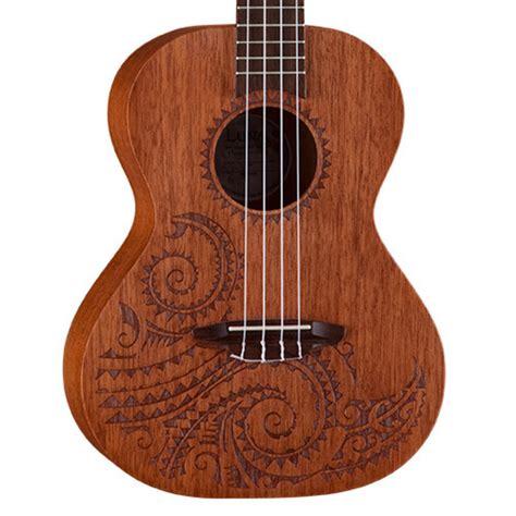 luna tattoo ukulele tenor ukulele mahogany at gear4music