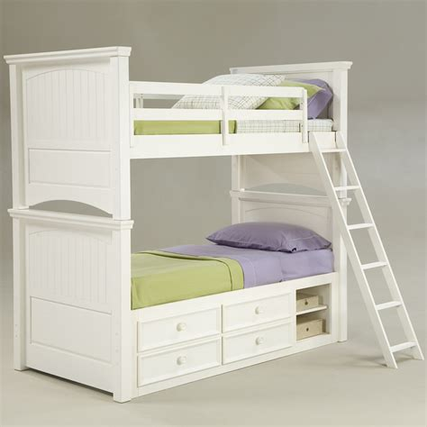 cottage loft bed beach cottage twin bunk bed rosenberryrooms com