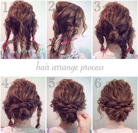 curly hairstyles uk 1000 ideas about easy curly updo on pinterest curly