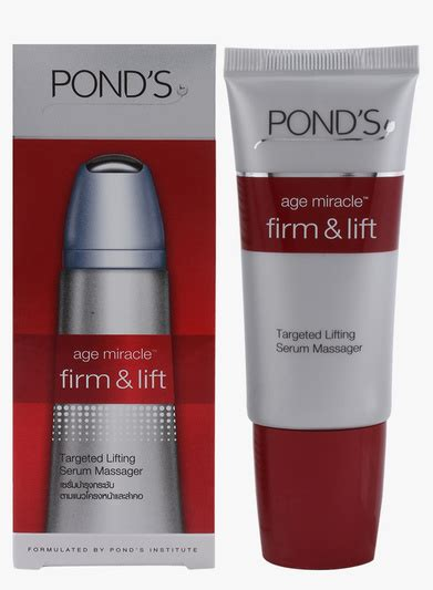 Promo Pond Age Miracle Firm Lift Serum Massager 25ml feisty fox diaries fashion lifestyle pond s age