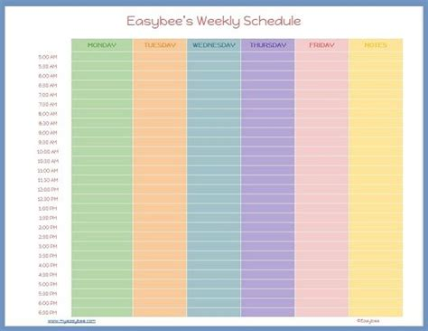 work schedule template docs schedule template docs schedule template free