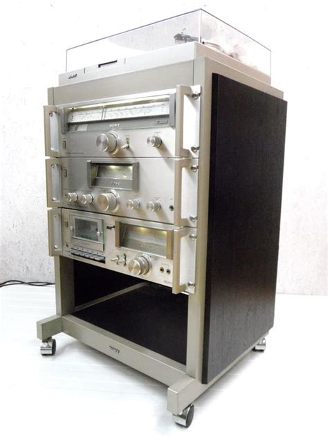 sony stereo system with rack catawiki