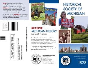 Home Design Board hsm brochure historical society of michiganhistorical