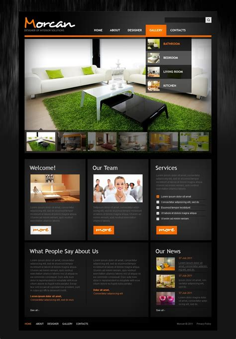 pretty prty management website templates images gallery website