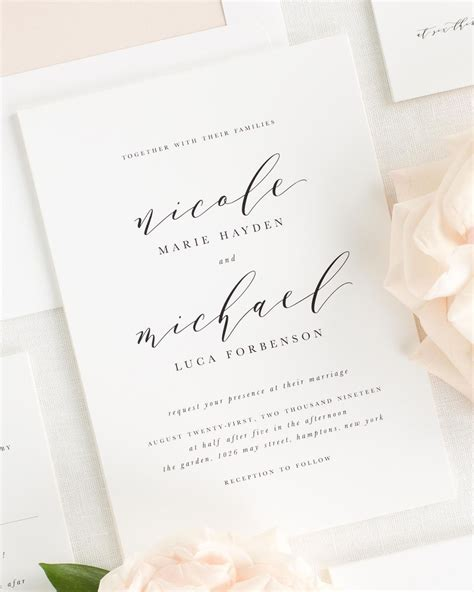 Wedding Invitation Collections by Wedding Invitation Collection Shine Wedding