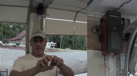 How To Install Liftmaster Garage Door Opener Install A Liftmaster Garage Door Opener Pt 2